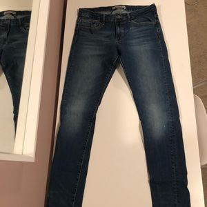 ZARA jeans stretch fit, low rise size 42